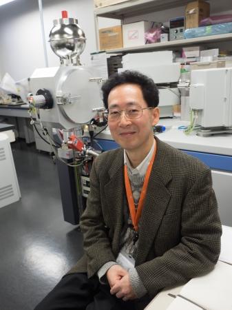 国立科学博物館 理工学研究部 理化学グループ長 米田成一