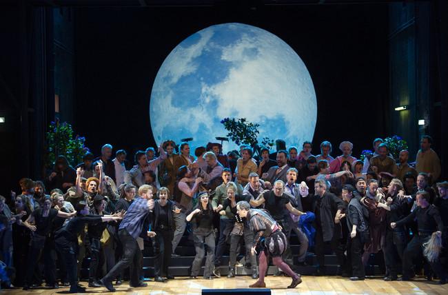 『ニュルンベルクのマイスタージンガー』 ザルツブルク公演より ©OFS/Monika Rittershaus
