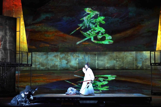 新国立劇場オペラ「紫苑物語」より 撮影:寺司正彦