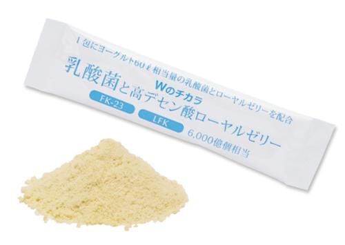 Wのチカラ 乳酸菌と高デセン酸ローヤルゼリー