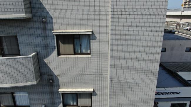 ドローンよる外壁部位撮影画像
