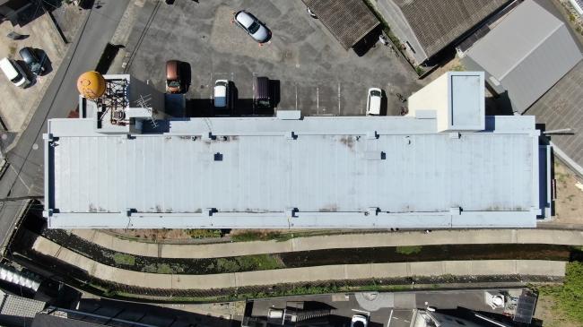 ドローンによる屋上部位撮影画像