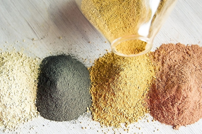 色々な粘土