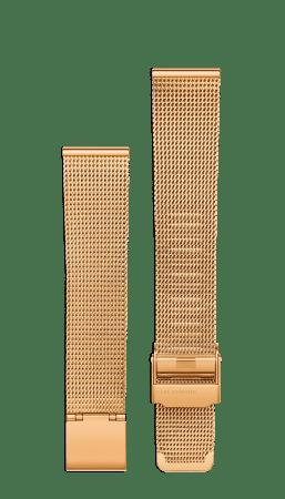 Rose gold mesh