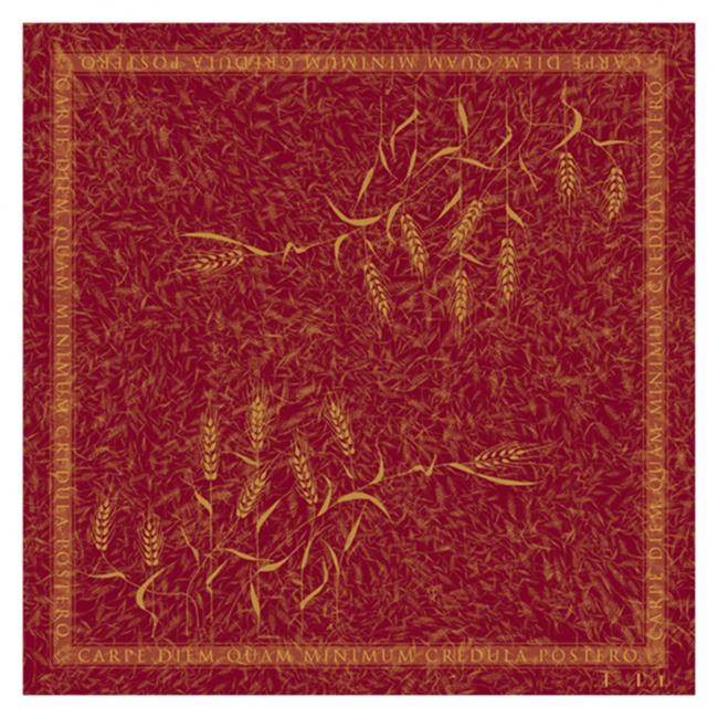 「小麦スカーフ」