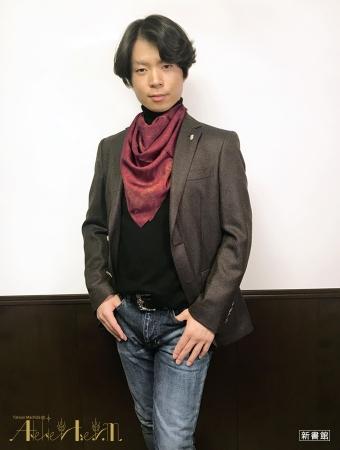 「小麦スカーフ」Style02