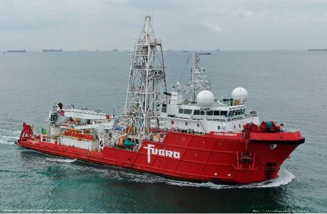 自航式CPT調査船のイメージ