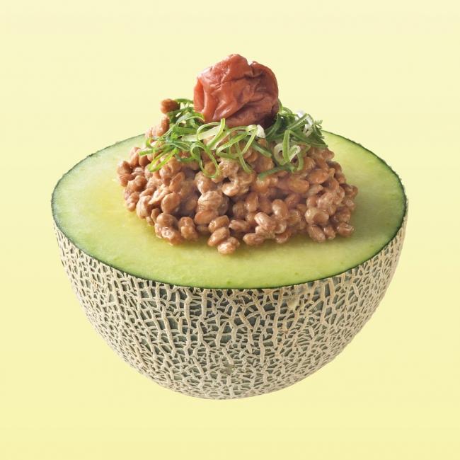 「半カットメロン」納豆