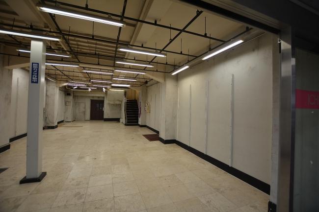改修前の1階フロア