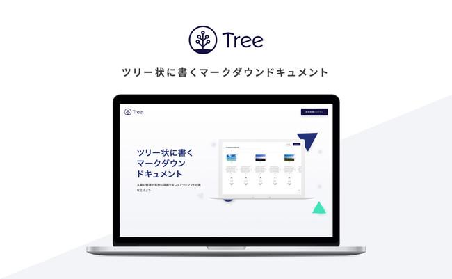 ツリー状に書くマークダウンドキュメントサービス「Tree」