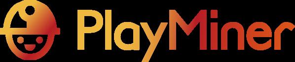 PlayMining PlayMiner イメージロゴ