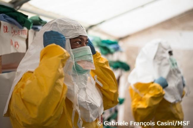 エボラ出血熱:コンゴ民主共和国...