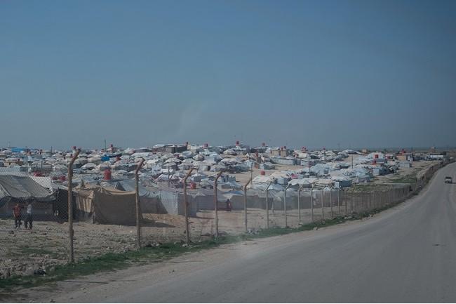 シリア北東部ハサカ県のアルホール避難キャンプ=2020年9月3日撮影 (C) MSF