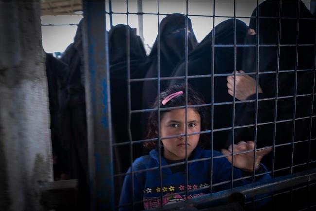 アルホール避難キャンプの滞在者の3分の2は子どもだ=2020年9月3日撮影 (C) MSF