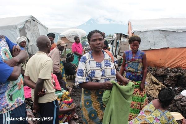 コンゴ民主共和国:北キブ州ゴマ...