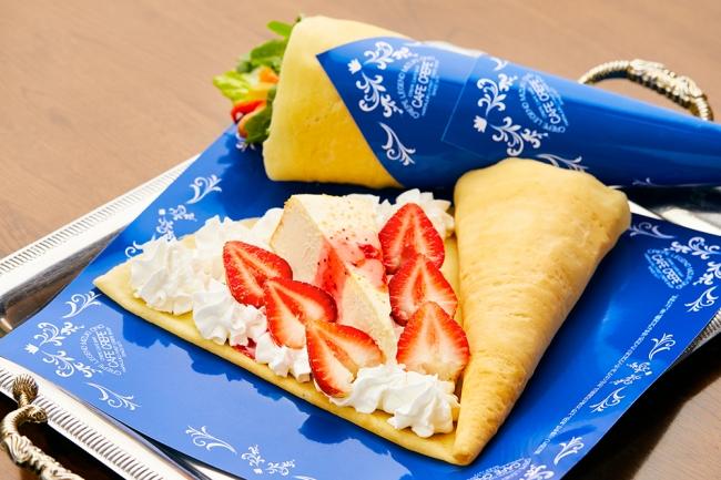 ストロベリーチーズケーキ 740円