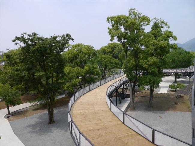 【特別見学通路からの景色3.】