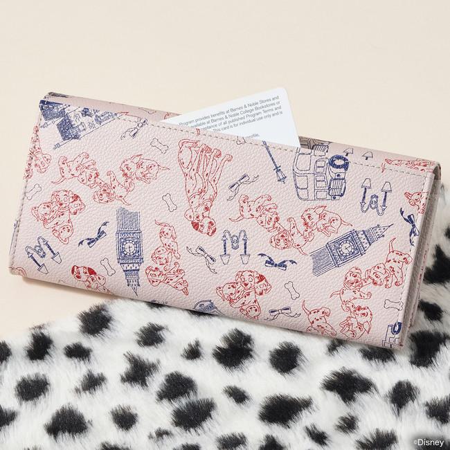 『101匹わんちゃん』長財布裏面