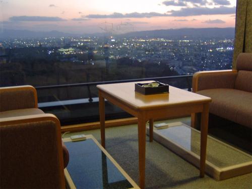 客室からの風景 夕刻