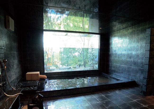 別府からわざわざ取り寄せている厳選された温泉が楽しめます。