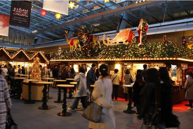 約1,500アイテムが揃う!屋根付き屋外スペースで楽しむ老舗マーケット 六本木ヒルズ「クリスマスマーケット2020」開催
