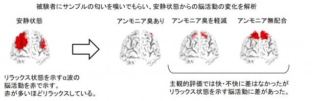 図1. 脳のリラックス状態を示すα波