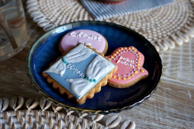 オリジナルクッキーは同じく吉祥寺駅前のスイーツショップ「Granny」との共同制作したものです。