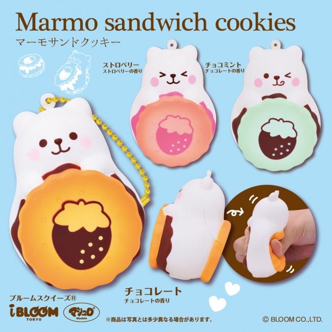 (1)マーモサンドクッキー