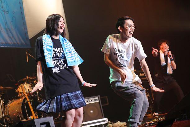 渡邉美穂とあしざわ教頭のコラボ