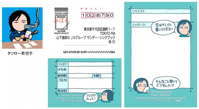 山下達郎のjxグループ サンデーソングブック放送1200回記念