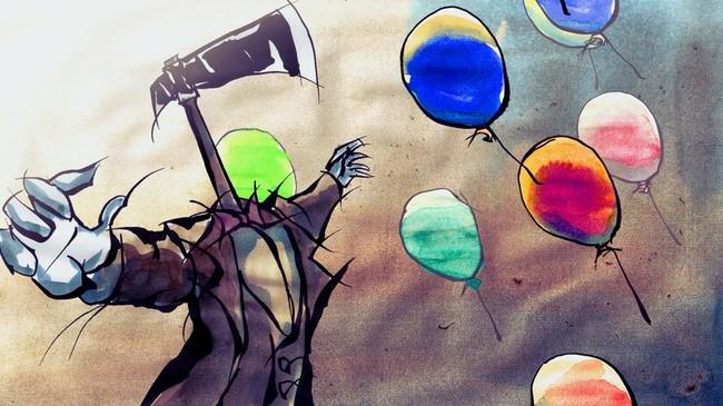 作品1:『The Balloon Catcher』金子 勲矩(多摩美術大学)