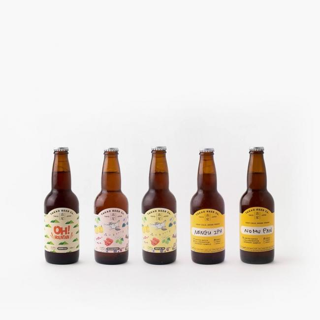 高尾ビールボトル商品