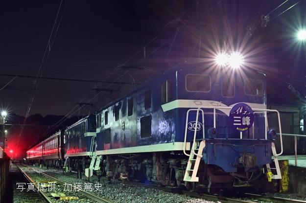 *使用客車は秩父鉄道所属の12系客車です
