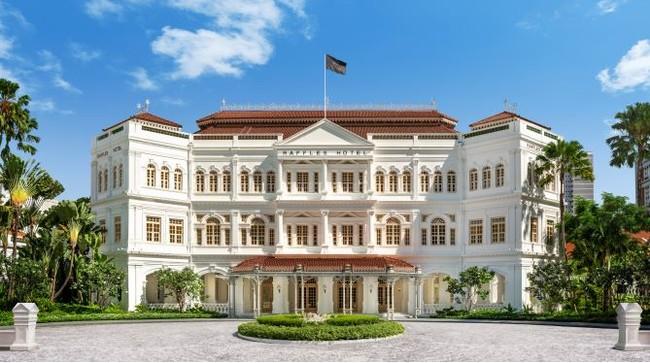 大規模な改装工事を経て、新たな歴史を刻み始めた伝説の「ラッフルズホテル」