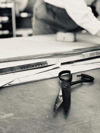 日本の熟練職人による縫製