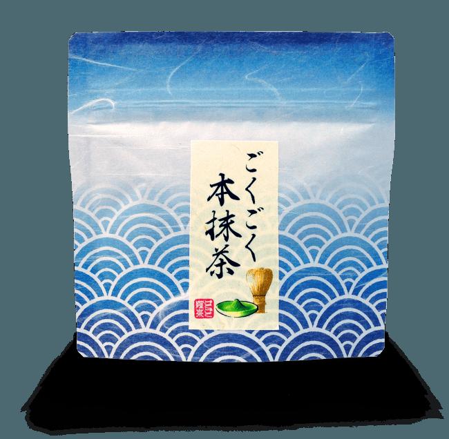 原材料のごくごく本抹茶