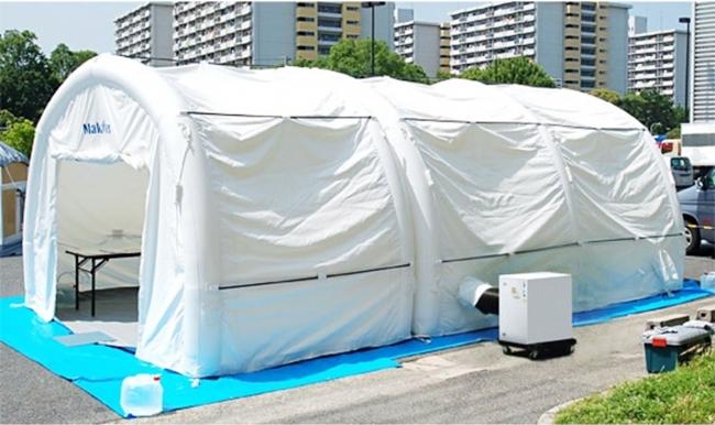 医療用陰圧テント(前室付き仕様)