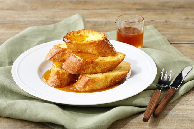 ハチミツ代わりにフレンチトーストにかけるのもオススメ