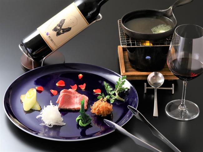 強肴  赤ワイン(ナパヴァーレ) 品種:カベルノソービニヨン