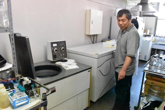 共同研究する香川大学には現在、その500人以上のうんちから採取したDNAを保存する専用の冷凍庫も完備
