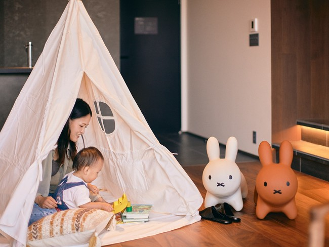 家族連れに人気のテント
