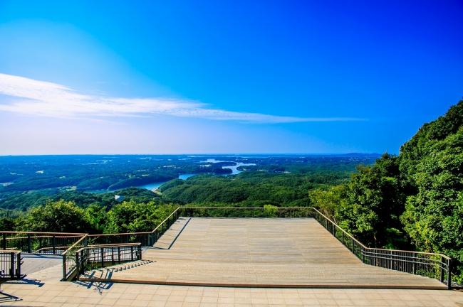 志摩に来たらここ!リアス海岸が一望できる横山天空カフェテラス