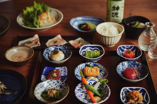日本酒が合う2泊目の夕食「蓼科 山ごはん」