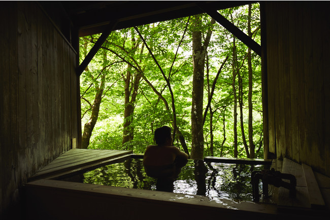 大自然の絶景を独り占めできる貸切露天風呂