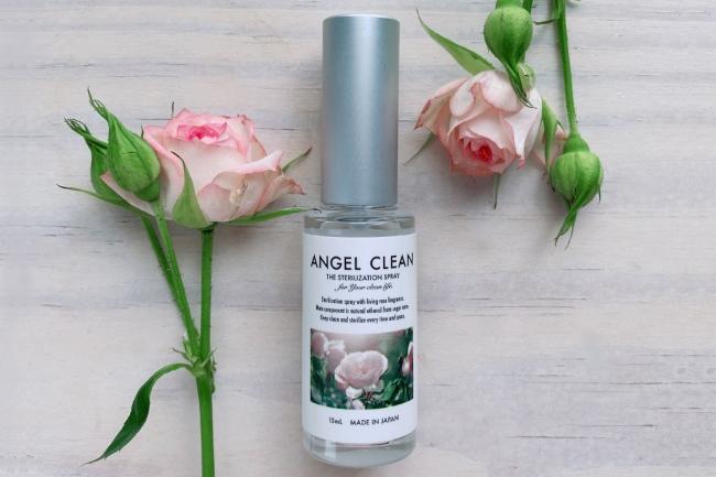 花びらのようなリビングローズの香りの除菌スプレー