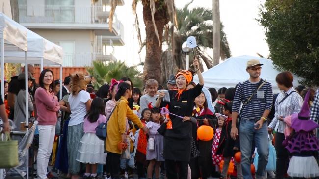 昨年のハロウィンパレード