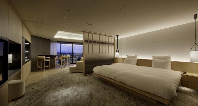 Spa Suite ベッドルーム (86平方メートル )