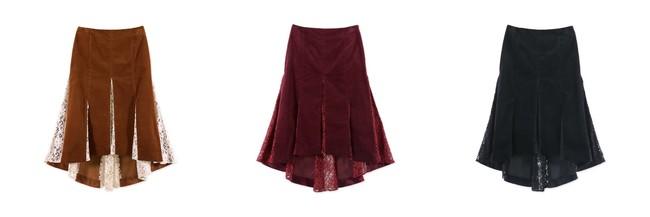 Mermaid Flared Skirt