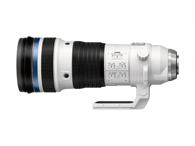 「M.ZUIKO DIGITAL ED 150-400mm F4.5 TC1.25x IS PRO」最終外観