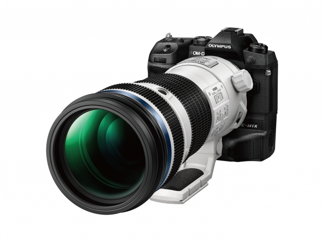 「OLYMPUS OM-D E-M1X」に 「M.ZUIKO DIGITAL ED 150-400mm F4.5 TC1.25x IS PRO」を装着